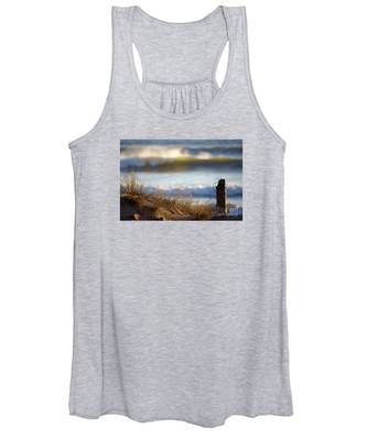Sun Kissed Waves Women's Tank Top