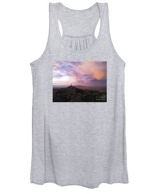 Sunset On The Bay Women's Tank Top