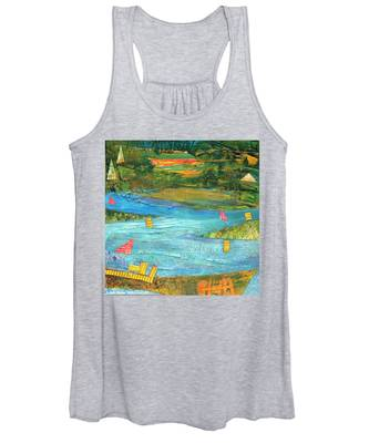 Sunset Sails 2 Women's Tank Top