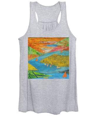 Sunset Sails 1 Women's Tank Top