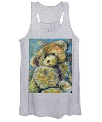 Teddy Bear Women's Tank Top