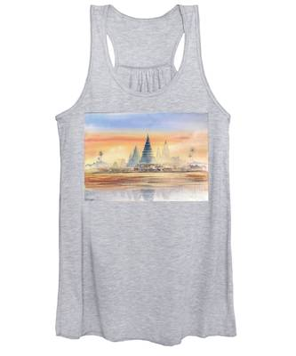 Temples In The Dusk Women's Tank Top