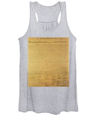 The Declaration Of Independence Women's Tank Top