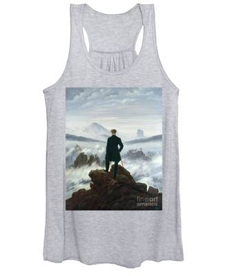 The Wanderer Above The Sea Of Fog Women's Tank Top