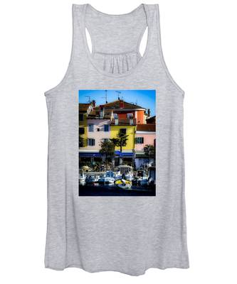 The Watercolors In Split Women's Tank Top