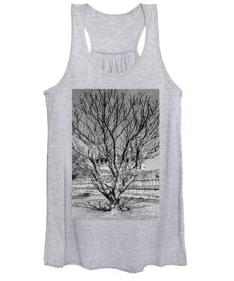 Tree And Temple Women's Tank Top