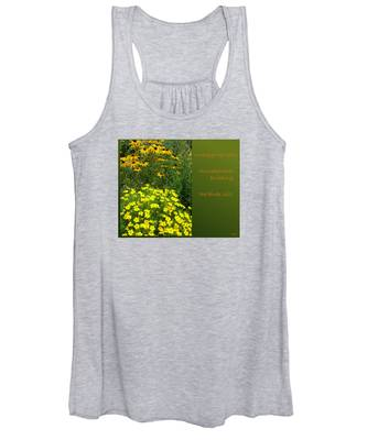 Unpegging Wash Haiga Women's Tank Top