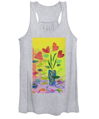 Vase Full Of Love Women's Tank Top
