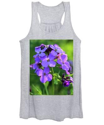 Purple Flower Women's Tank Top