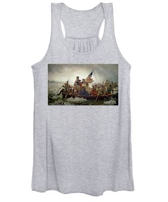 Washington Crossing The Delaware River Women's Tank Top