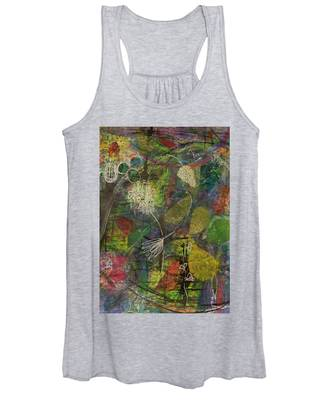 Wildflower Two Women's Tank Top