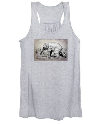 Baby Elephant Walk Women's Tank Top