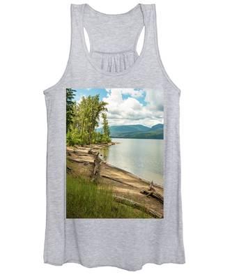Beach Driftwood Women's Tank Top