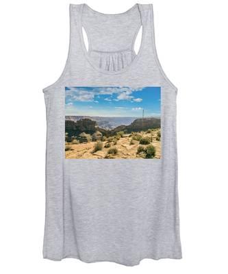 Eagle Rock, Grand Canyon. Women's Tank Top