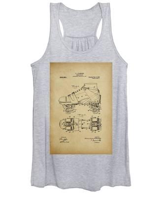 J. L. Plimpton, Roller Skate, Patented Dec.8,1908. Women's Tank Top