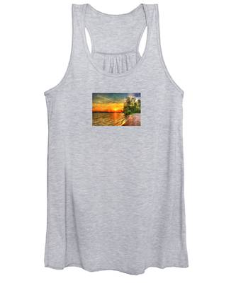 Lake Sunset Women's Tank Top