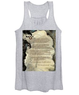 The Tale Of Two Wolves Women's Tank Top