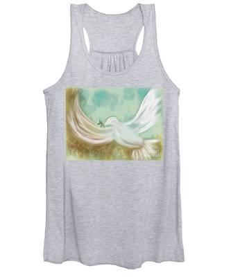 Wings Of Peace Women's Tank Top