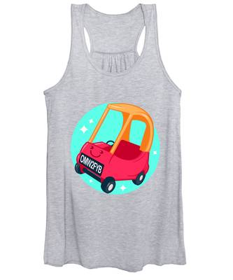 Car Women's Tank Tops