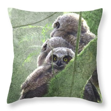 Harbingers Of Spring Throw Pillow