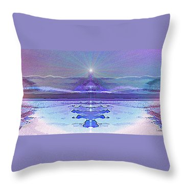 934 - Magic Light Beacon 2017 Throw Pillow