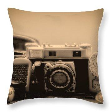 A Kodak Moment Throw Pillow