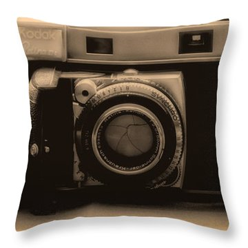 A Kodak Moment Throw Pillow
