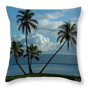 A Little Bit Of Paradise Throw Pillow