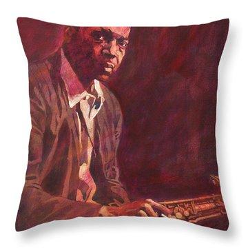 A Love Supreme - Coltrane Throw Pillow