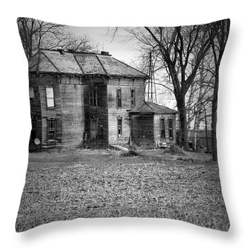 An Old Homestead Throw Pillow