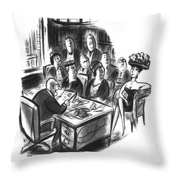 Inheritance Throw Pillows