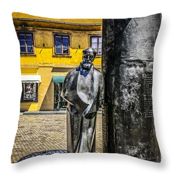 August Senoa Zagreb Throw Pillow
