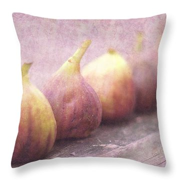 Autumn Mission Figs  Throw Pillow by Suzanne Powers