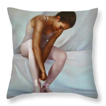 Ballerina 4 Throw Pillow