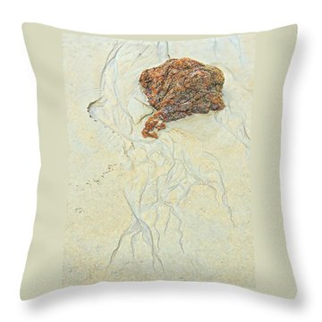 Beach Sand  2 Throw Pillow