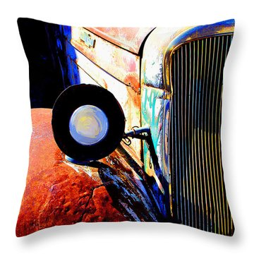 Beautiful Time Throw Pillow