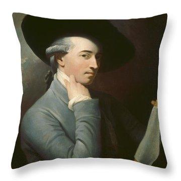 Benjamin West Throw Pillow by Benjamin West