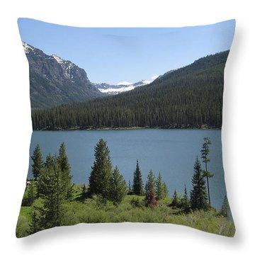 Big Sky Montana Throw Pillow