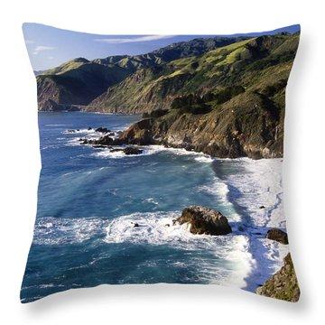 Oceans Throw Pillows