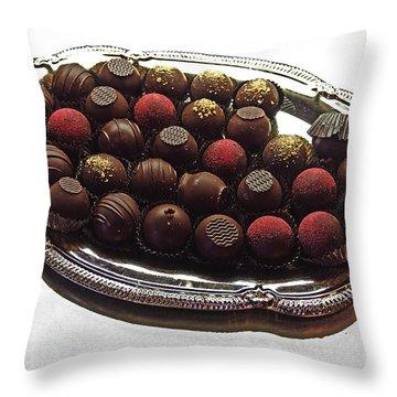 Chocolates Throw Pillow by David Pantuso