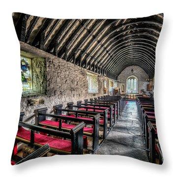 Church Of St Mary Throw Pillow