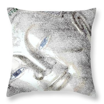 Contentment  Throw Pillow by Nola Lee Kelsey
