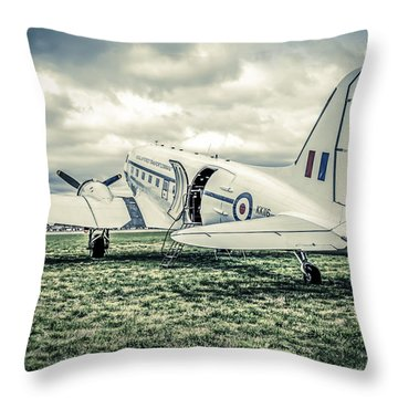 Dc-3 Or C-47 Throw Pillow