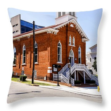 Dexter King Baptist Church Throw Pillow
