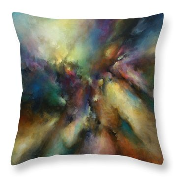 ' Endless Journey ' Throw Pillow by Michael Lang