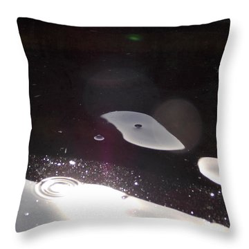 Another World Throw Pillow by Deborah Moen