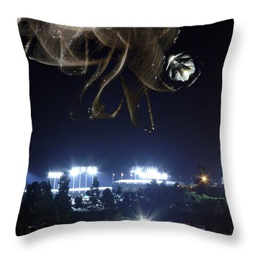 Fans From Space Throw Pillow