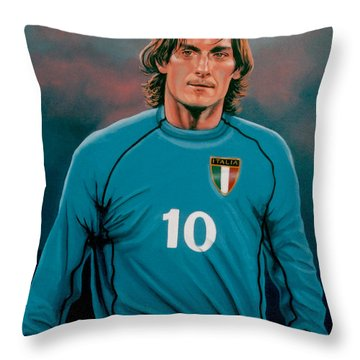 Francesco Totti 2 Throw Pillow