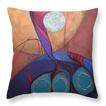 Hadlakat Hanerot Throw Pillow