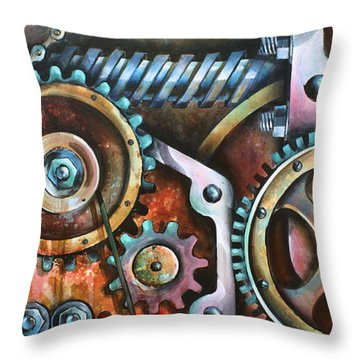 ' Harmony 8' Throw Pillow by Michael Lang